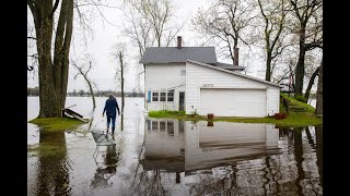 Three years of flooding bedevils homes around Upper Crooked Lake