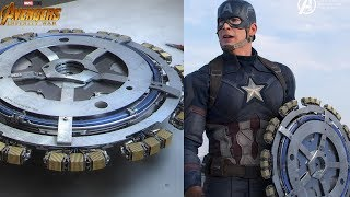 MARVEL OFFICIALLY Reveals The Shield Tony Stark Made For Captain America - AVENGERS INFINITY WAR