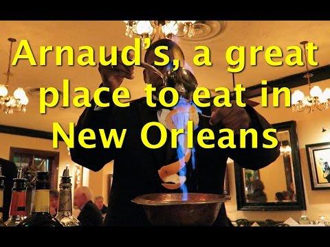Café Brûlot at Arnaud's - Great Restaurant in New Orleans