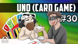 THESE RULES ARE PURE CHAOS! (7-0 RULE) | Uno Card Game #30 Ft. Jiggly, Scotty, Moo