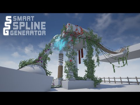 Smart Spline Generator For Unreal Engine 4