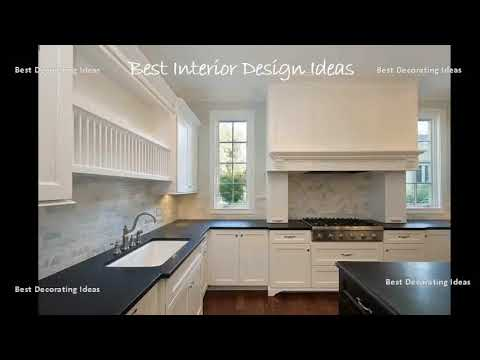 Kitchen Designs White Cabinets Black Countertops | Decorating Picture Solutions For Modern