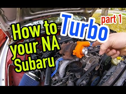 How to turbo your non turbo Subaru - Part 1 - Dirtcheapdaily : Ep.35  Pat Turbo Engine Vae Diagram on