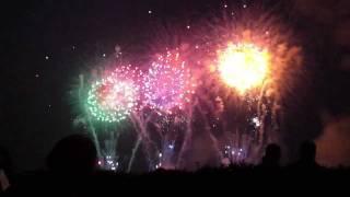 2011.8.13、熊谷市花火大会の八木橋提供のスターマイン ブログはこちら→...