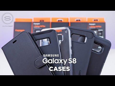 Top 5 Samsung Galaxy S8 CASES