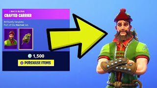 this skin looks cool... Fortnite ITEM SHOP [September 13th] *NEW* HACIVAT Skin!