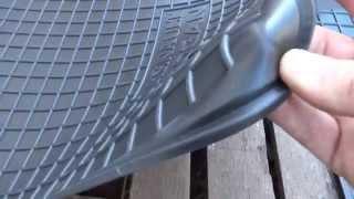 Качественные черные резиновые коврики на Renault Logan, Автогум(Высококачественные резиновые коврики, для салона Вашего автомобиля. Данные резиновые коврики выполнены..., 2014-10-18T17:55:05.000Z)