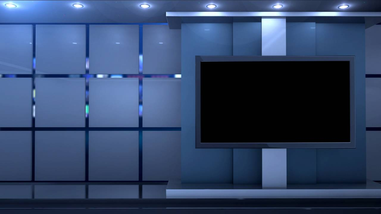 free virtual news studio background globe close HD  YouTube