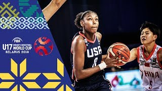 China v USA - Full Game - FIBA U17 Women's Basketball World Cup 2018
