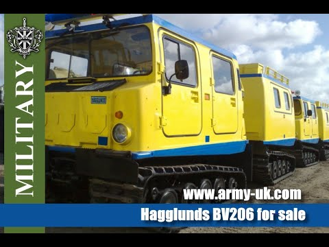 Hagglunds BV206 for sale - YouTube