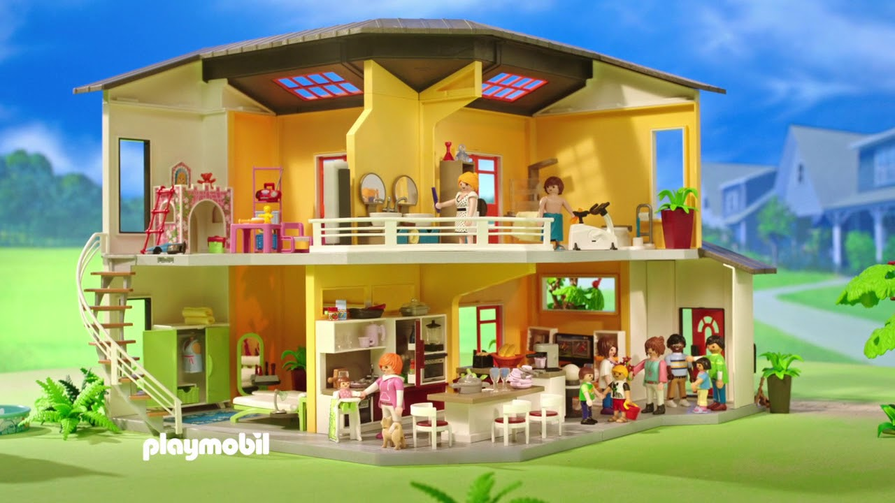 playmobil villa youtube. Black Bedroom Furniture Sets. Home Design Ideas