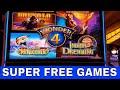 Wonder 4 Indian Dreaming Slot Machine BONUS Super Free Games