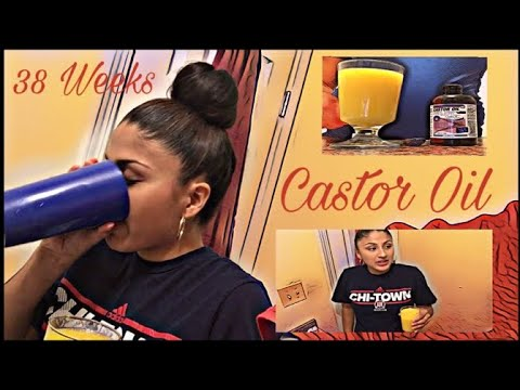 Inducing Labor At 38 Weeks Castor Oil Part 1 Youtube