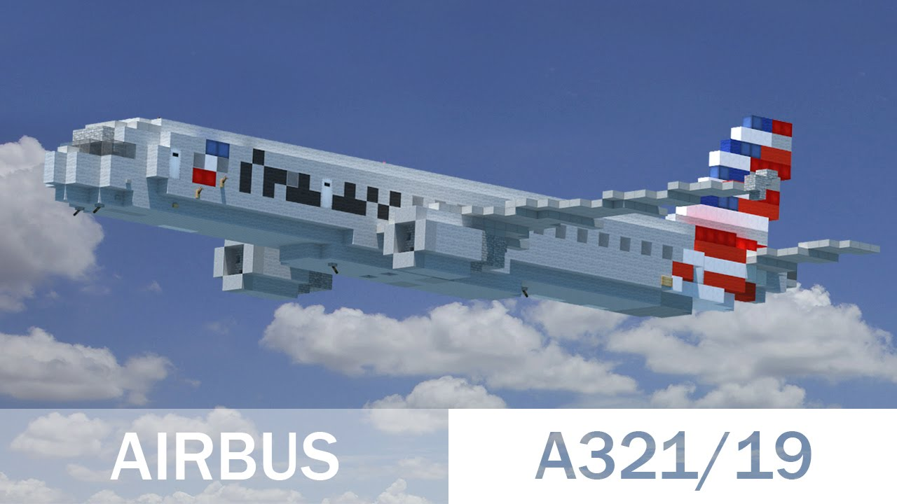 Minecraft Airbus A321 19 Youtube