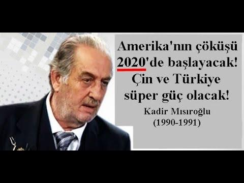 Kadir Mısıroğlu: ABD 2020'de Yıkılma Sürecine Girecek! (1990-1991) - YouTube