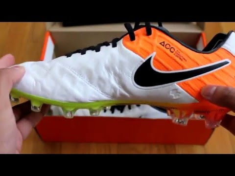 e005b5a38919 Nike Tiempo Legend VI (6) FG Radiant Reveal Pack UNBOXING and ON-FEET Look  - YouTube