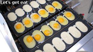 울산맛집 계란오빵! 계란빵 땅콩빵 와플 바나나빵 8개 …