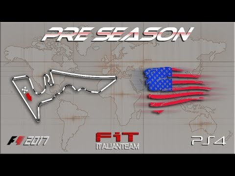 FiT PreSeason American Grand Prix Austin stanza B 50% 18.09.17 [F1 2017 PS4 - Live Streaming 1080p]