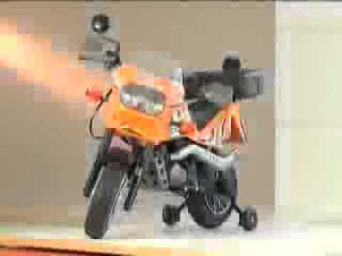 Mini Moto Elétrica - Desert Ténéré 12V - Peg-Pérego