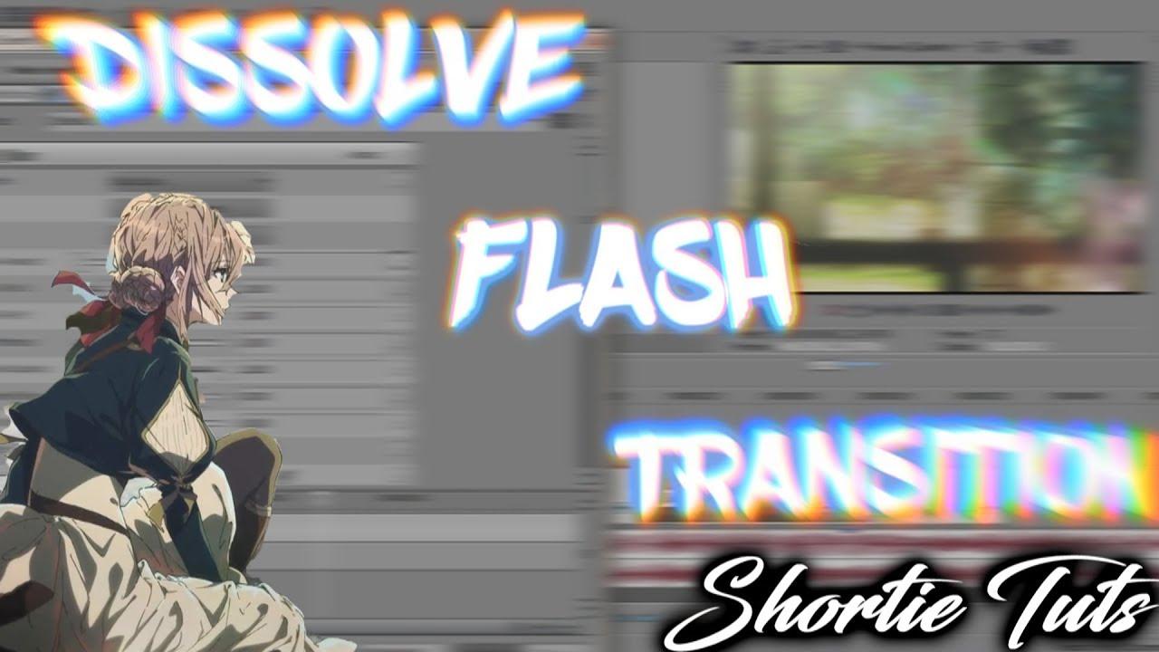 Fade flash transition tutorial / video star youtube.