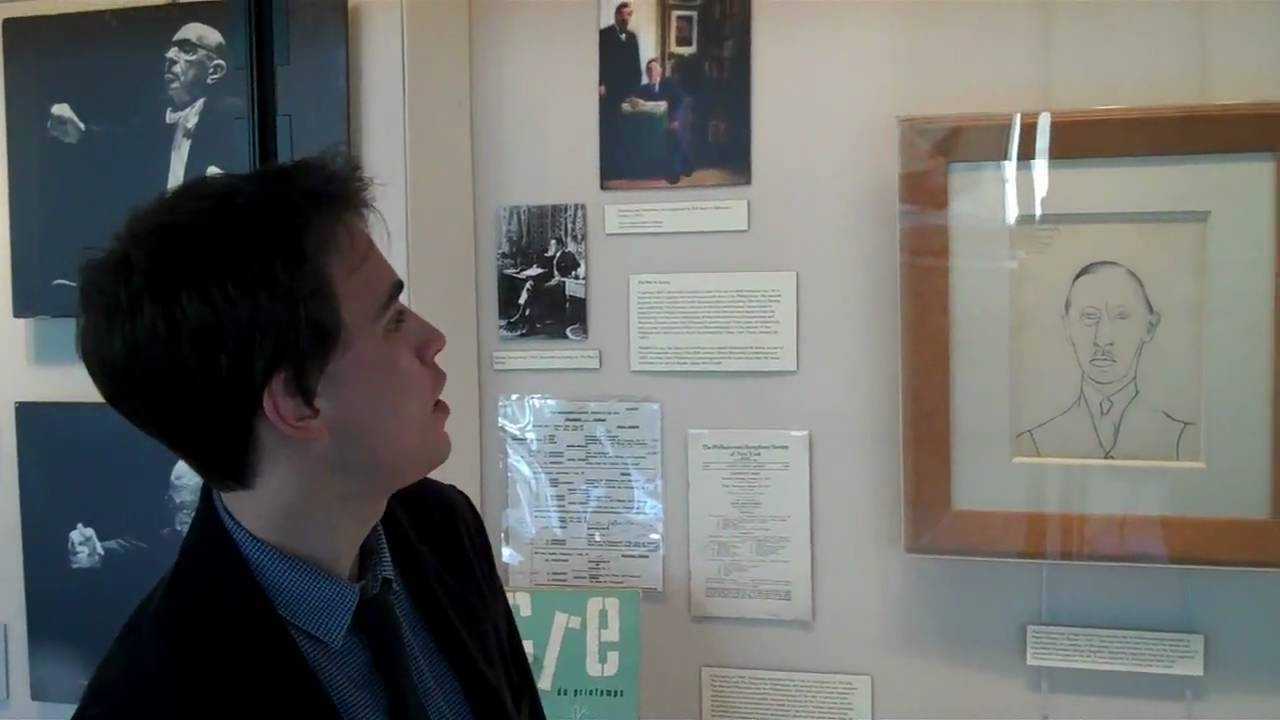 The Russian Stravinsky flipCam Video #4 Stravinsky at the Philharmonic