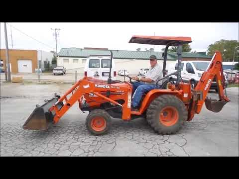 Kubota B20 MFWD tractor for sale | no-reserve Internet auction October 26, 2017