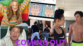 A different COMING OUT // LGBTQ+ Tiktok Compilation