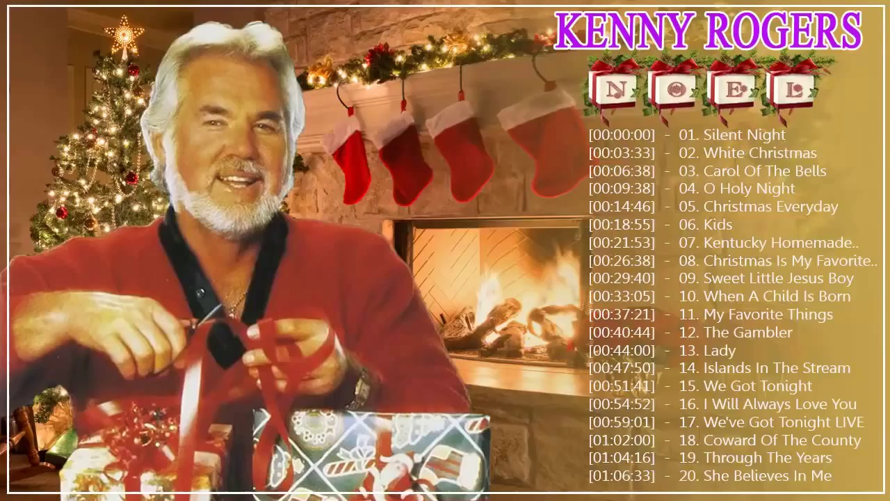 Kenny Rogers Christmas Songs - Kenny Rogers Christmas Album Live ...