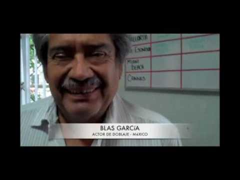 BLAS GARCIA / ACTOR DE DOBLAJE VOZ GRAVE