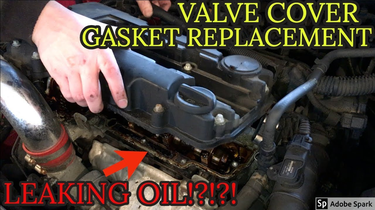 Oil Gasket Leak >> Chevy Cruze Valve Cover Gasket Replacement Leaking Oil Same For Trax Encore Sonic 1 4 L