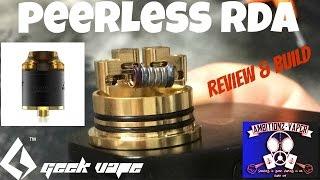 Peerless RDA by Geekvape Review & Build