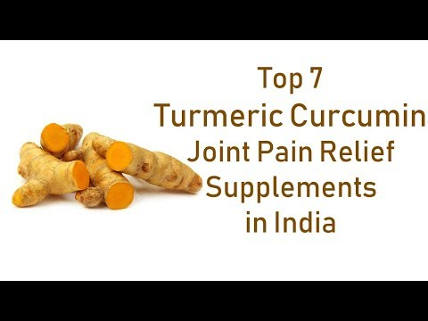 Top 7 Turmeric Curcumin Joint Pain Relief Supplements in India with Bioperine Black Pepper