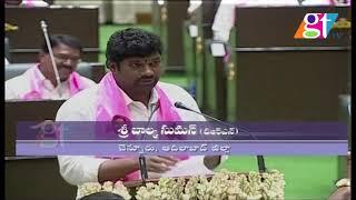 TRS MLA Balka Suman Takes Oath as MLA | Telangana MLAs Swearing in Ceremony | | Great Telangana TV