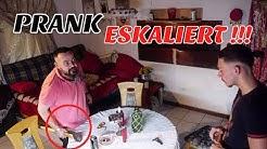 AUTOMAT SÜCHTIG PRANK an TÜRKISCHEN PAPA ESKALIERT!!