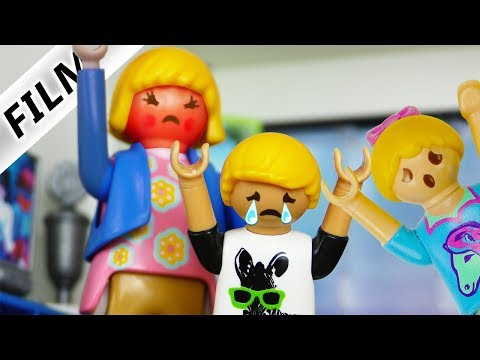 Playmobil Film Deutsch BÖSE STIEFMUTTER BLAMIERT PHILLIP EXTRA VOR HANNAHS AUGEN! Familie Vogel