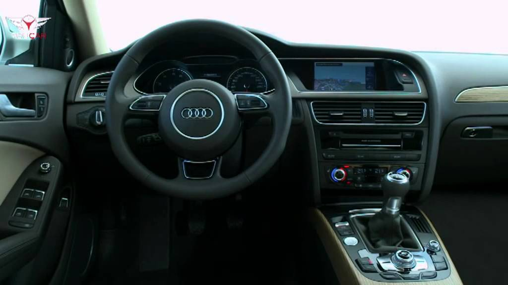 2012 audi a4 sedan interior youtube