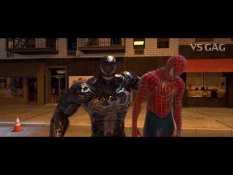 [ฝึกพากย์ไทย] Venom vs SPIDER-MAN, Deadpool - Part 3 | by Prance Studio