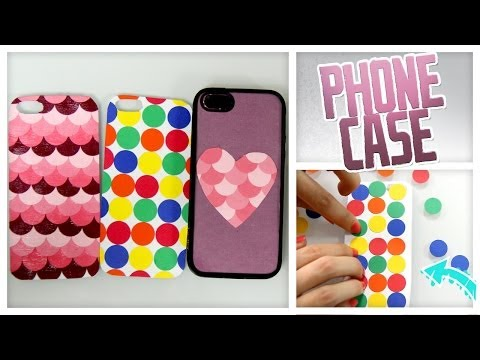 DIY Colorful Cell Phone Cases! - Do It, Gurl