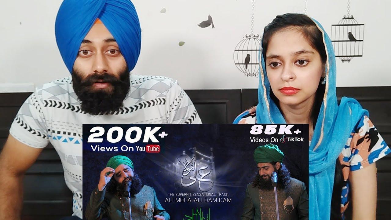 Indian Reaction on ALI MOLA ALI DAM DAM | Amazing Qawwal | PunjabiReel TV