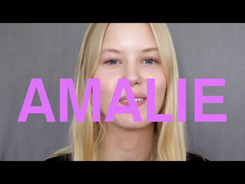 Model Amalie Schmidt at Silent Models-Who do you Love?