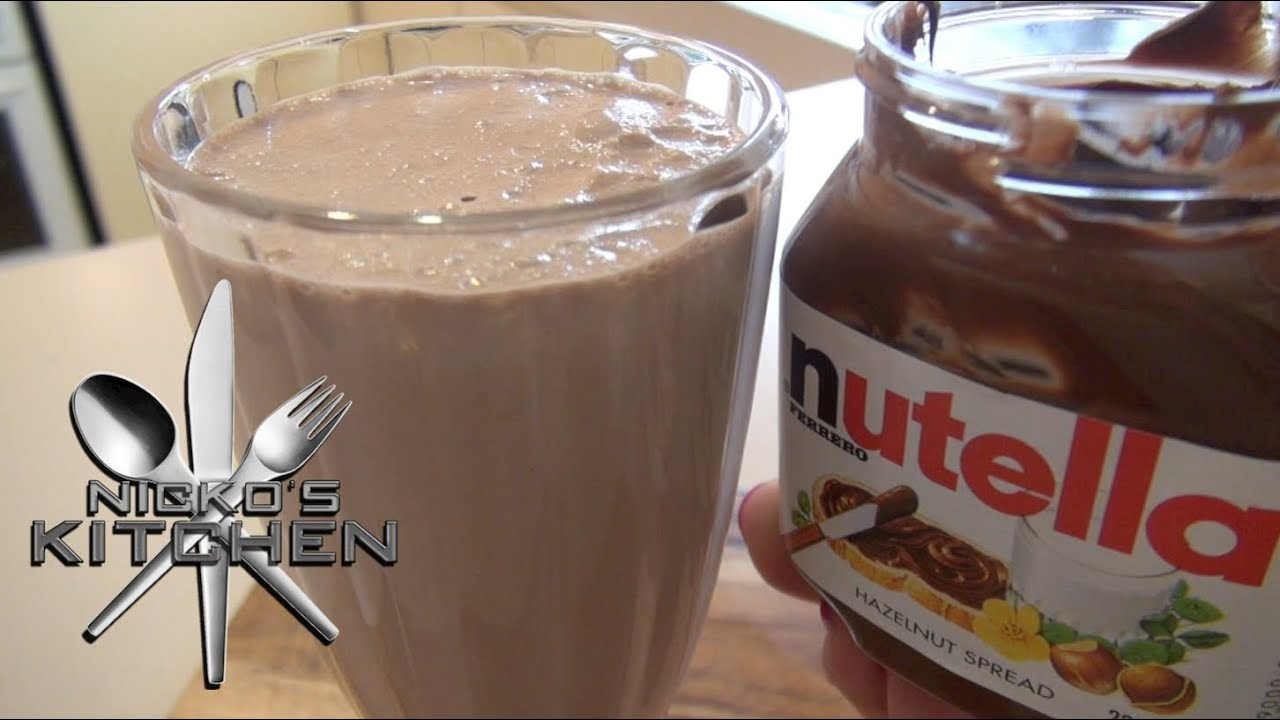 Nutella Milkshake Related Keywords & Suggestions - Nutella Milkshake ...