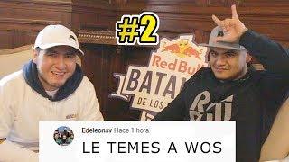 ACZINO LEE COMENTARIOS DE SUS BATALLAS DE RAP 2  | Red Bull Batalla De Los Gallos Internacional 2019