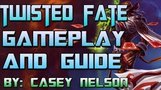 league of legends season 3 twisted fate full guide and gameplay diamond 1 solo que