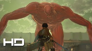 Repeat youtube video ATTACK ON TITAN (PS4) Eren VS The Colossal Titan Secret ENDING - Walkthrough Gameplay Cutscene