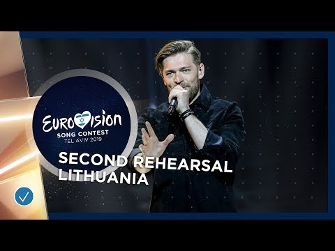 Lithuania 🇱🇹 - Jurij Veklenko - Run With The Lions - Exclusive Rehearsal Clip - Eurovision 2019