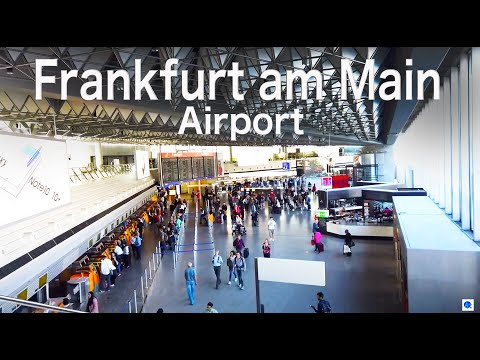 【Airport Tour】Frankfurt am Main Airport  TERMINAL 1 Check in area