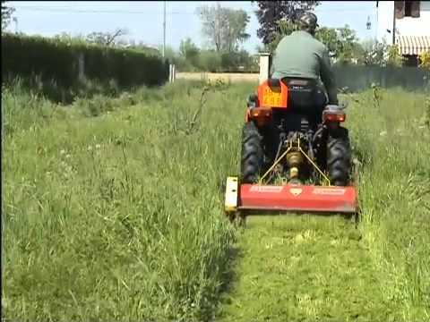 trincia per trattorino tsm 900 zanon youtube