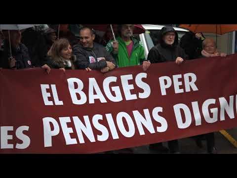 Manifestació pensions