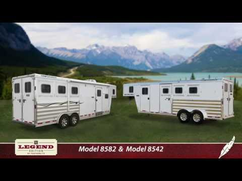 Introducing the Featherlite Legend Horse Trailers