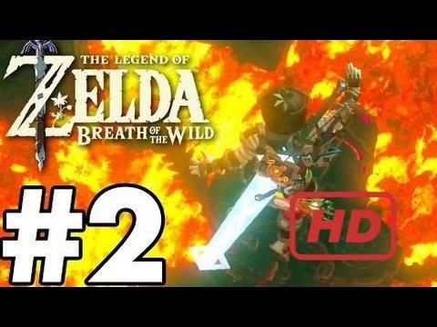 Divine Beast VAH RUDANIA! - The Legend Of Zelda: Breath Of The Wild - Gameplay Part 2 BOSS FI  #DAM
